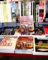 Les Cahiers à la librairie du Centre Pompidou